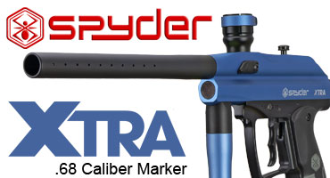Spyder Xtra paintball markers