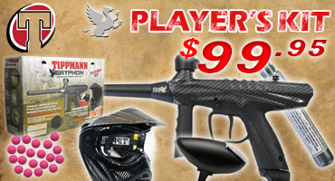 Tippmann Gryphon Paintball Package