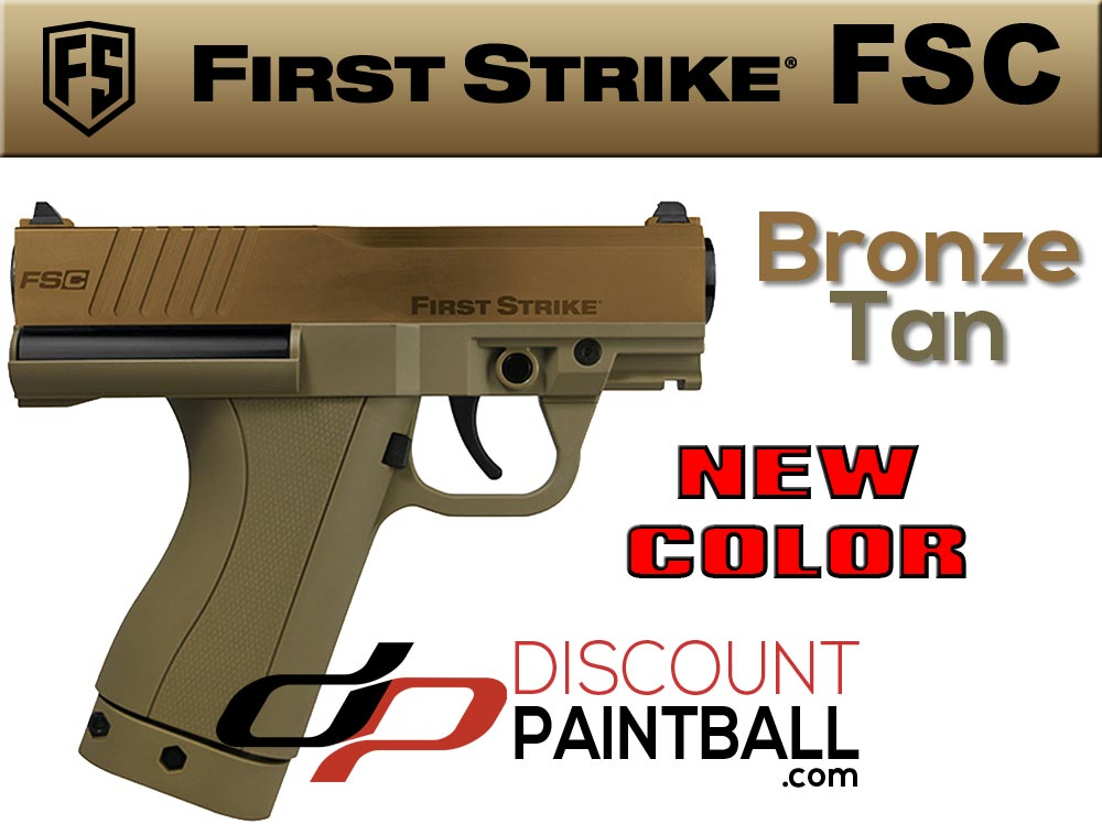 First Strike FSC bronze color