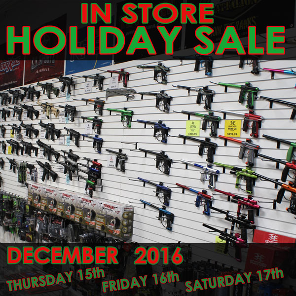 In Store Paintball Sale