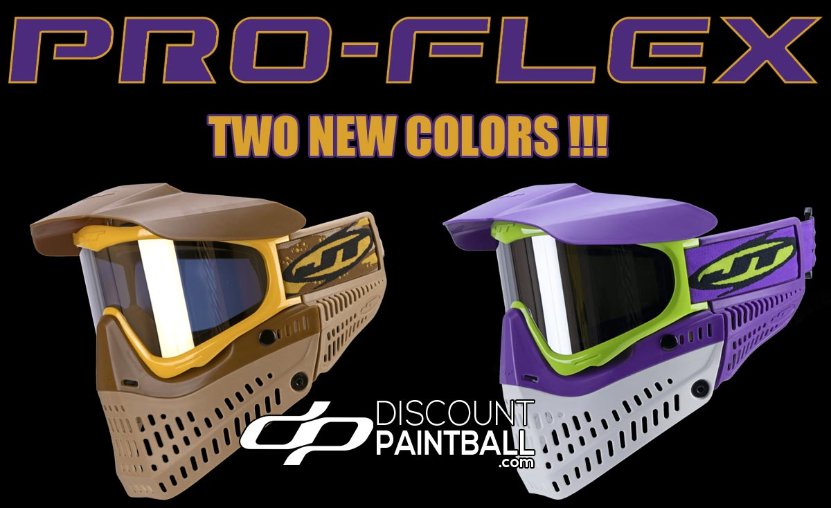 New JT Proflex Limited Edition masks