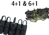 4 + 1 and 6 + 1 Harnesses