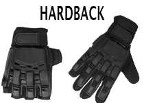 Hardback Paintball Gloves