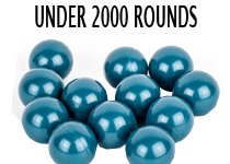 Under 2000 Rounds Paintballs