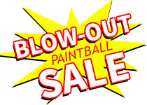 BLOWOUT PAINTBALL SALE