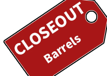 Closeout Paintball Barrels