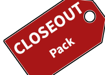 Closeout Paintball Packs