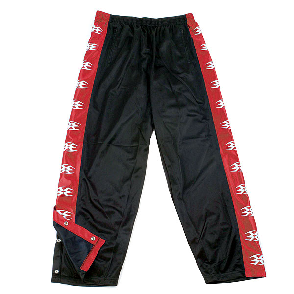 Empire Star Pants Black/Red - Large
