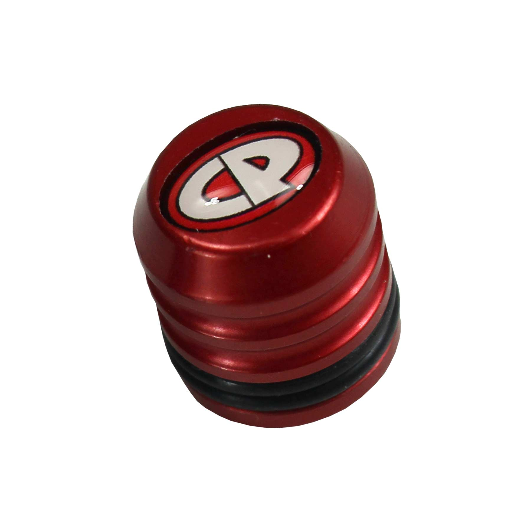 Custom Products Fill Nipple Dust Cap Red