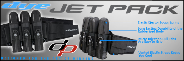 Dye Jet Paintball Harness
