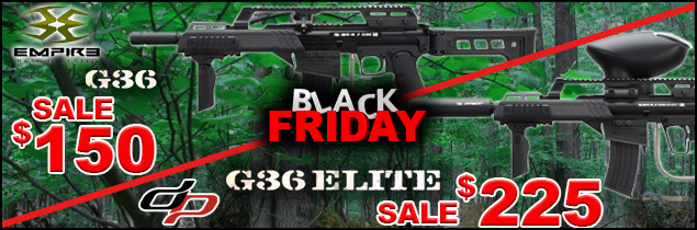 Black Friday Savings on BT4 G36 paintball markers