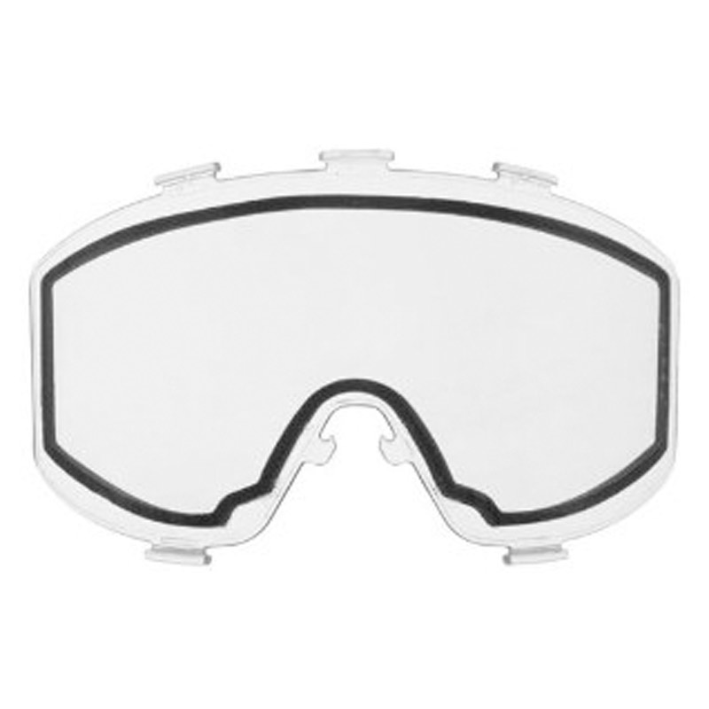 JT Thermal Lens for Elite, nVader, and other Goggles Clear