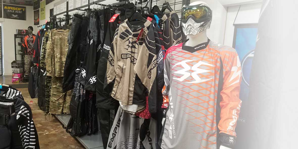 Paintball jerseys and pants