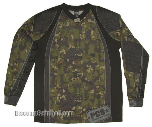 XXL Details about  /PCS Evasion Jersey 06 Jungle Camo