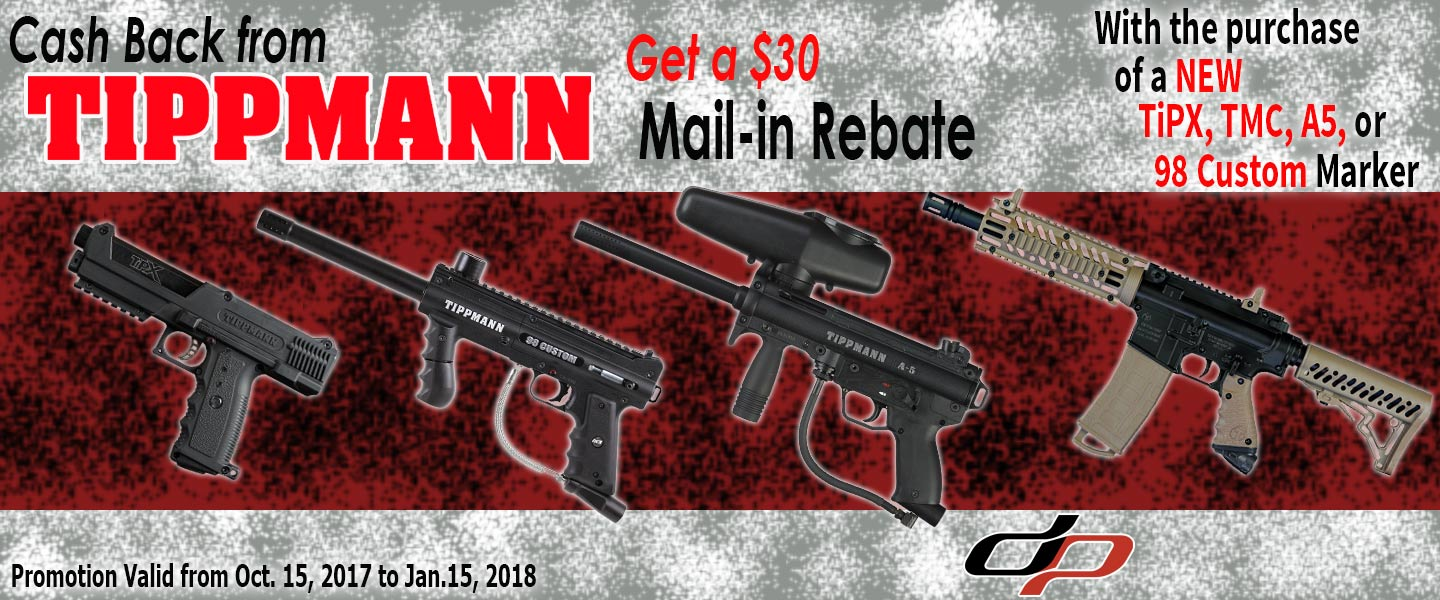 Tippmann $30 Mail in Rebate