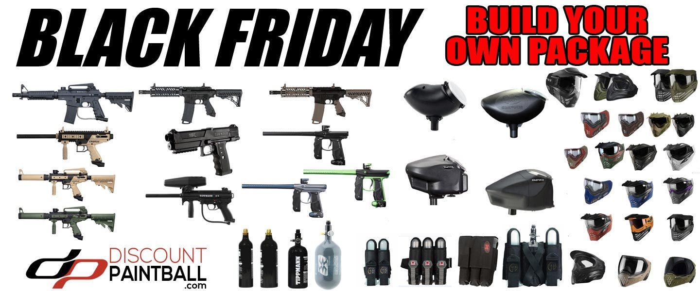 Holiday Paintball packages are easy when you build your own paintball marker package
