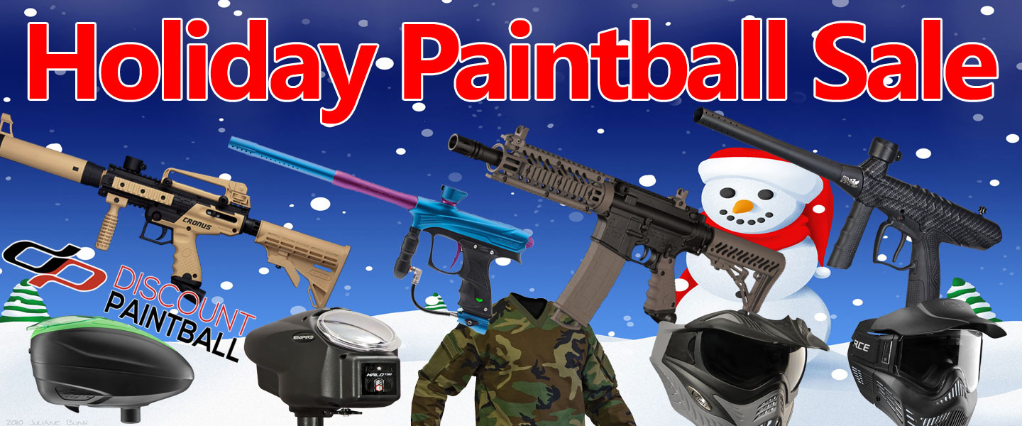 Holiday Paintball Sale