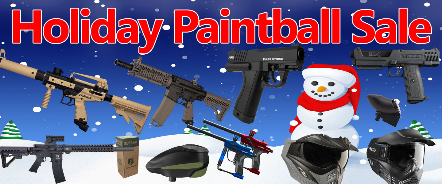 Holiday Paintball Deals 2018