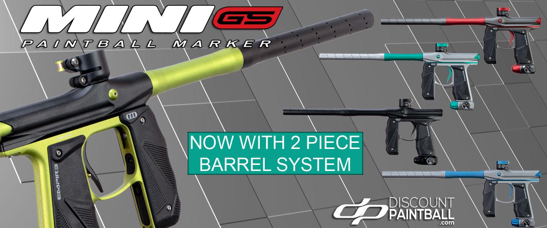 New Empire Mini GS with 2 piece barrel