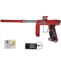 Empire Axe Pro Paintball Gun Dust Red/Grey