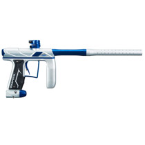 Empire Axe Pro Paintball Gun Dust Sliver/Polished Blue