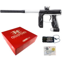 Empire Axe 2.0 Paintball Marker Dust Black/Dust Silver