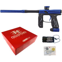 Empire Axe 2.0 Paintball Marker Dust Blue/Dust Black