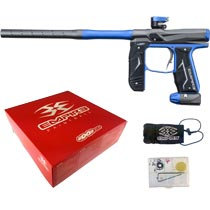Empire Axe 2.0 Paintball Marker Dark Grey/Blue Dust