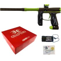 Empire Axe 2.0 Paintball Marker Dust Brown Dust Green