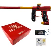 Empire Axe 2.0 Paintball Marker Dust Red Dust Orange