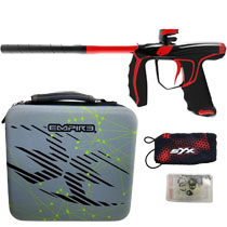Empire SYX Paintball Marker Polished Black/Red