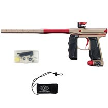 Empire Mini GS Paintball Marker Tan Red Dust w 2 PC Barrel