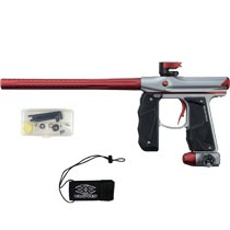 Empire Mini GS Paintball Marker Grey Red Dust