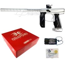 Empire Axe 2.0 Paintball Marker Dust Silver