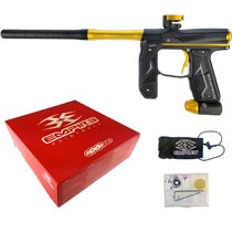 Empire Axe 2.0 Paintball Marker Dust Black Dust Gold