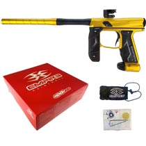 Empire Axe 2.0 Paintball Marker Dust Gold Dust Black