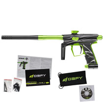 D3FY Sports D3S Paintball Gun Black Lime With Tadao Board