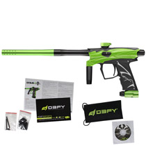 D3FY Sports D3S Paintball Gun Lime Black With Tadao Board