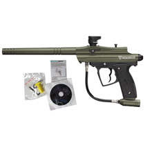 D3FY Sports Conqu3st Paintball Gun Olive Green