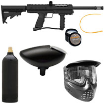 GOG G-1 Paintball Gun Black Package A
