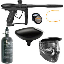 GOG eXTCy Paintball Gun With Blackheart Board Black Package A
