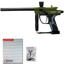 Kingman Spyder Fenix Paintball Gun Olive Green