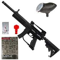Kingman Spyder MR4 Pro Paintball Gun Diamond Black