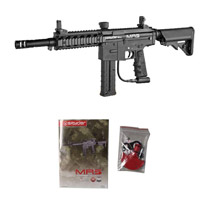 Kingman Spyder MR5 Paintball Marker - Diamond Black