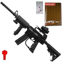 Kingman 2012 Spyder MRX Elite Paintball Gun Diamond Black