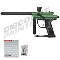 Kingman Spyder Fenix Paintball Gun Forest Green