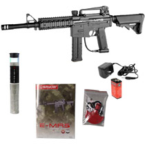 Kingman Spyder E-MR5 Elite Paintball Marker - Diamond Black