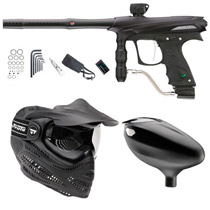 Proto Rail Paintball Marker Combo - Black Dust