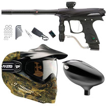 Proto 2011 Rail Paintball Marker Combo B - Black Dust