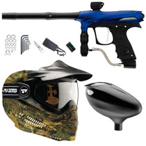 Proto 2011 Rail Paintball Marker Combo B - Blue Dust